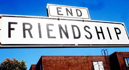 Wenn die Freundschaft zerbricht