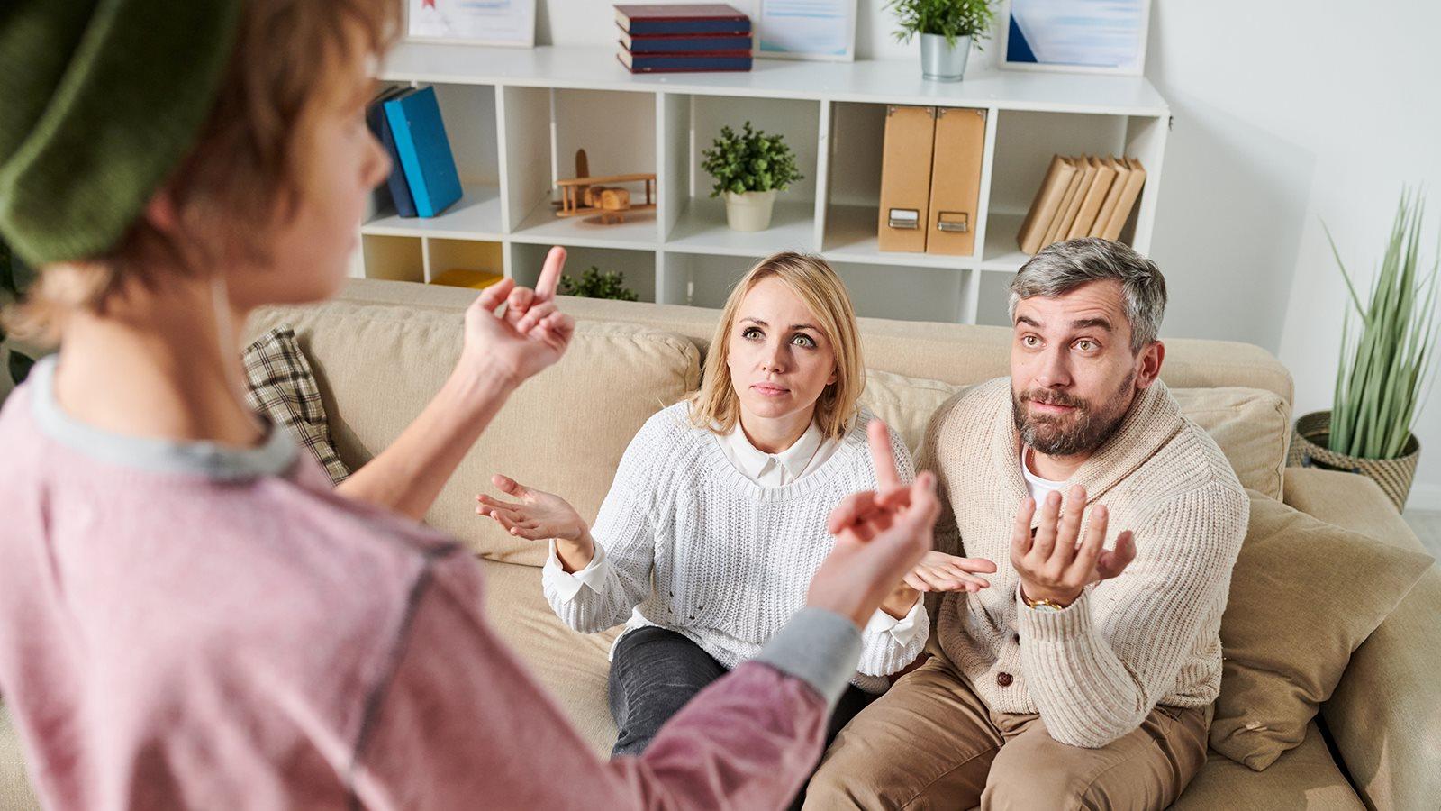 Immer Streit mit den Eltern - 147 Rat auf Draht
